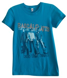 American Apparel T Shirt Turquoise