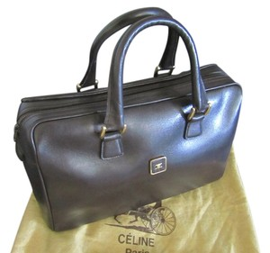 Céline Celine Boston Tote in espresso