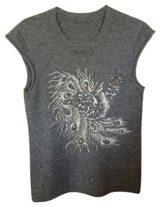 Other Metallic Sleeveless Asian Dragon Chinese New Year Sweater