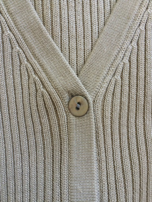 Tail Cardigan Golf Sweater Knit Sleeveless Vest