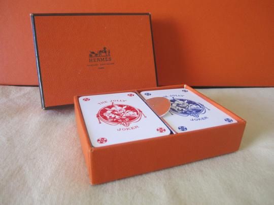 Hermès Hermes Playing Cards Set of 2 Decks
