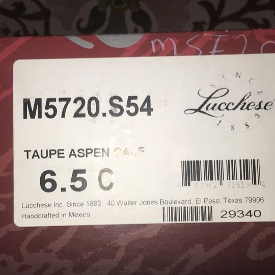Lucchese Taupe Boots
