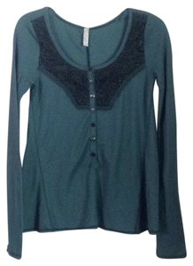 Free People T Shirt Teal