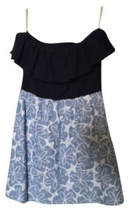 Lilly Pulitzer short dress Navy/blue on Tradesy