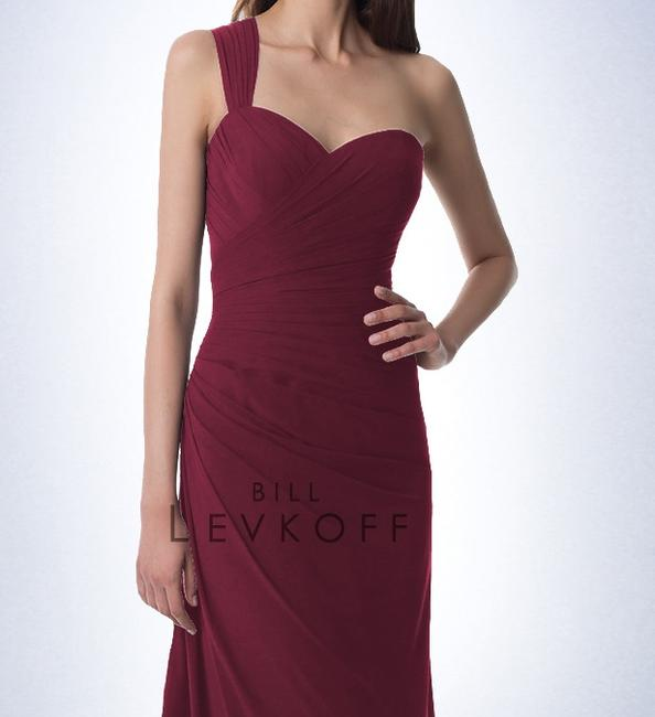Item - Wine Chiffon Gown (Style 981) Formal Bridesmaid/Mob Dress Size 4 (S)