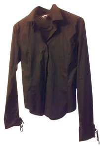 A|X Armani Exchange Button Down Shirt black