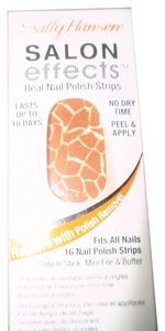 Sally Hansen SALLY-HANSEN-SALON-EFFECTS-460-QUEEN-OF-THE-JUNGLE-NAIL-POLISH-STRIPS
