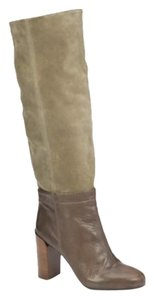 Vince Brown/Olive Green Boots