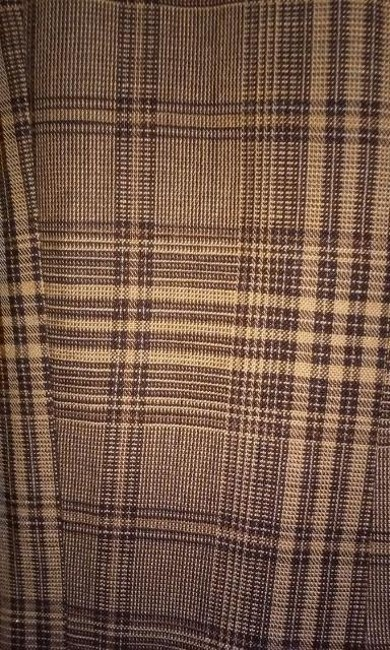 Jones New York brown and black plaid Blazer