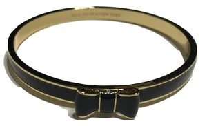 Kate Spade Kate Spade Bangle Take a Bow Bracelet - Black