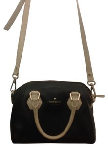 Kate Spade Satchel in Black with Ivory