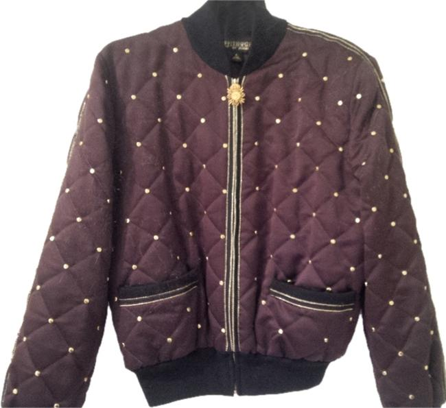 Preload https://item5.tradesy.com/images/st-john-chocolate-brown-griffith-and-gray-spring-jacket-size-12-l-6662224-0-0.jpg?width=400&height=650