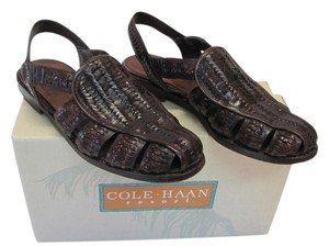 Cole Haan Good Condition Size 7.50 Brown Flats