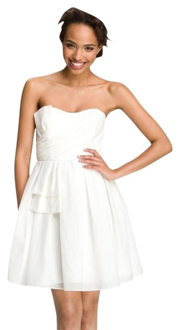 Preload https://img-static.tradesy.com/item/6662584/jill-stuart-ivory-white-sweetheart-neckline-bow-detail-above-knee-formal-dress-size-2-xs-0-2-650-650.jpg