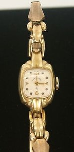 Lady Elgin Gold Filled Mexico Vintage Ladies Wristwatch Bj06