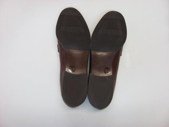 Easy Spirit Leather Excellent Condition Size 7.50 Narrow Width Brown Flats