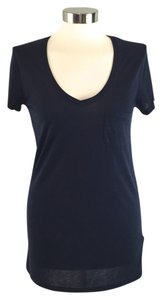 Vince Short Sleeve T Shirt Navy