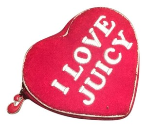 Juicy Couture Red/White Clutch