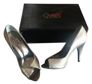 Carlos by Carlos Santana Party Silver Pumps