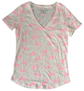 Aéropostale T Shirt White and pink
