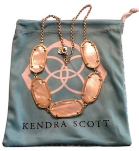 Kendra Scott kendra scott noelle necklace Gold in ivory pearl