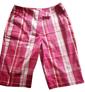 Jones New York Cargo Shorts Pink