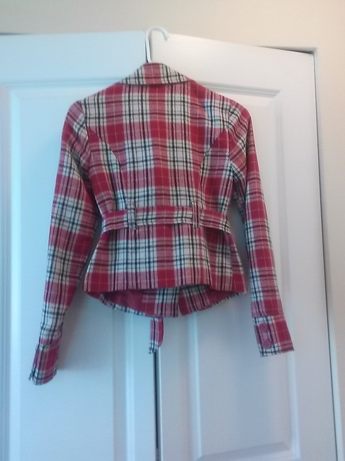 Forever 21 Red plaid Jacket