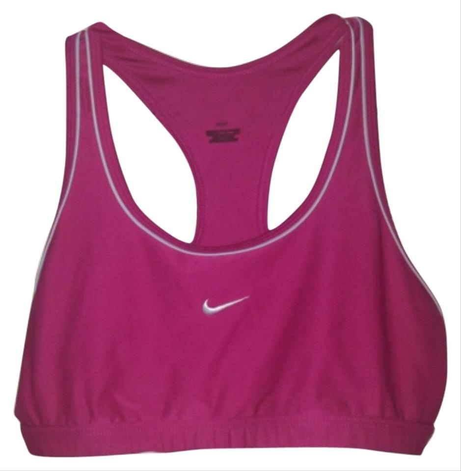 a424455387 Nike Pink Athletic Comfortable Stretchy Exercise Edgy Activewear Sports Bra