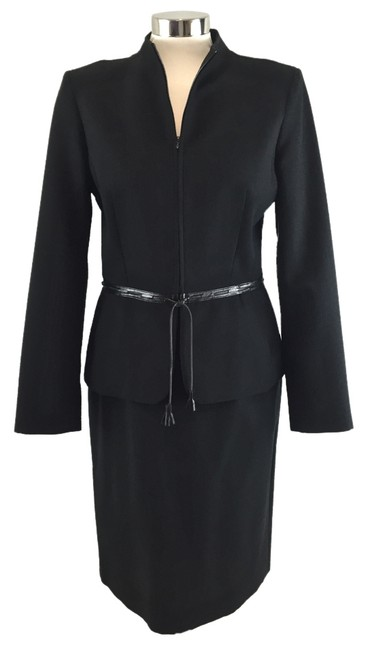 Preload https://img-static.tradesy.com/item/6669586/charles-chang-lima-black-textured-wool-w-leather-trim-skirt-suit-size-8-m-0-0-650-650.jpg