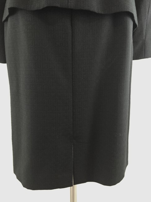 Charles Chang Lima Textured Wool w/ Leather Trim Suit
