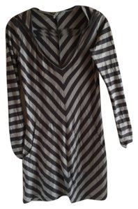 Oonagh by Nanette Lepore short dress Hood Hoodie Stripe Pockets on Tradesy