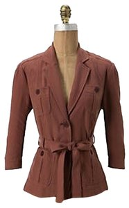 Anthropologie Maroon Blazer