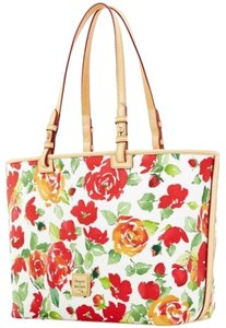 Dooney & Bourke Tote in Rose Floral Pattern