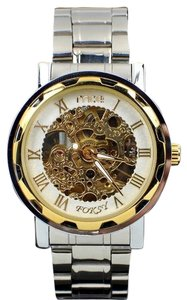 Portofino Luxury Sport Watch With Gold Face And Quartz Movement-FREE SHIPPING