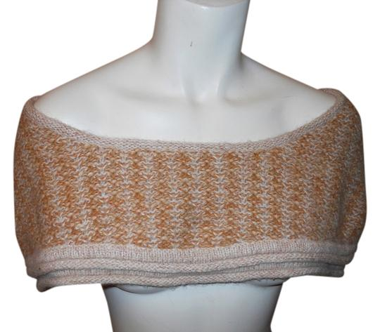 Preload https://img-static.tradesy.com/item/6673990/arden-b-beige-tan-and-copper-metallic-shoulder-cape-scarfwrap-0-0-540-540.jpg