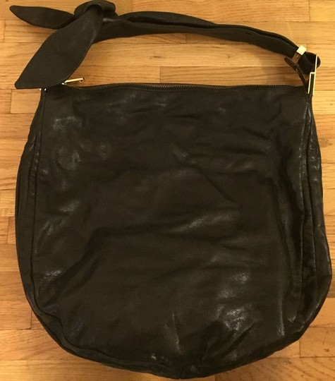 Badgley Mischka Leather Hobo Bag