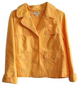Ann Taylor LOFT Golden Yellow Blazer