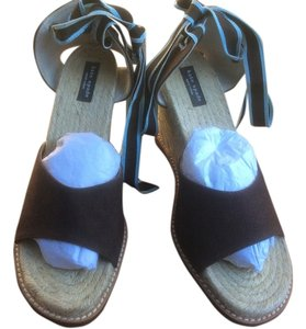 Kate Spade Brown with light Blue strap! Wedges