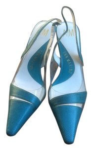 Anne Marino Blue Pumps