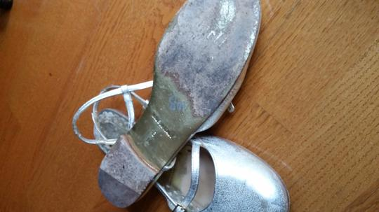 Juicy Couture Flats Silver Wedges