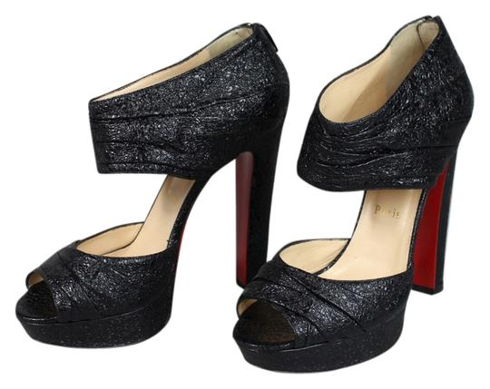 Preload https://item1.tradesy.com/images/christian-louboutin-black-vintage-leather-pumps-size-us-105-regular-m-b-6676540-0-1.jpg?width=440&height=440