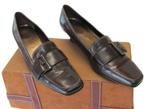 Karen Scott Leather Very Good Condition Brown Pumps