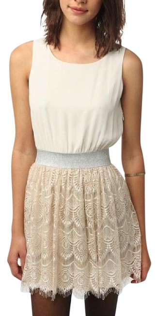 Preload https://img-static.tradesy.com/item/6677911/urban-outfitters-white-silver-champagne-above-knee-night-out-dress-size-8-m-0-2-650-650.jpg