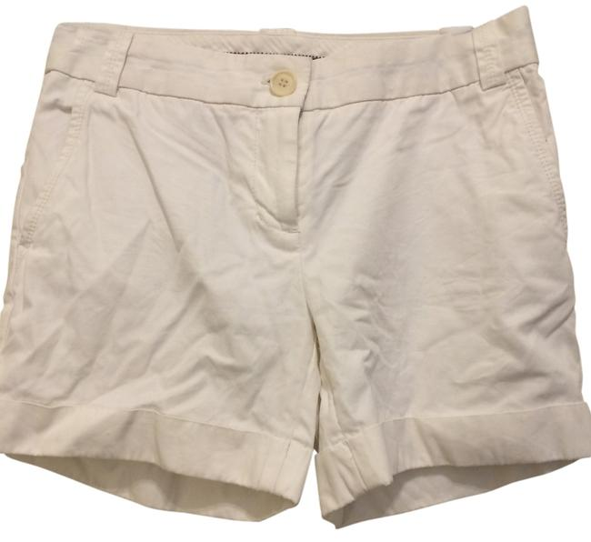 Preload https://item2.tradesy.com/images/jcrew-white-city-fit-cuffed-shorts-size-2-xs-26-6678316-0-0.jpg?width=400&height=650