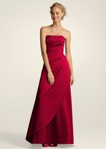 David's Bridal Other F11165 In Plum Dress