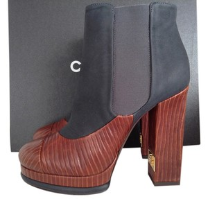 Chanel Fall Ankle Short RUSTY BROWN Boots