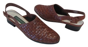 Naturalizer Leather Very Good Condition Size 7.50 N Medium Brown Sandals