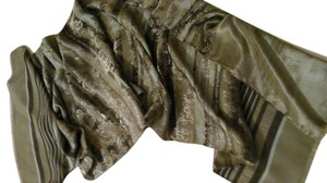 Olsen of Europe Olsen of Europe Scarf, Poly with Rayon Stripe and Brocade Luxury, 18 x 64