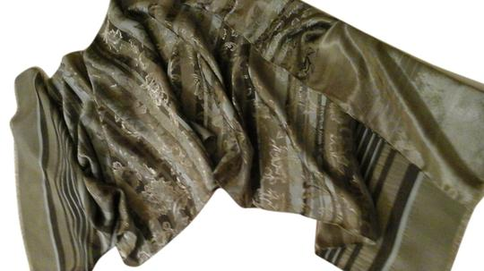 Preload https://img-static.tradesy.com/item/6680029/gray-green-poly-with-rayon-stripe-and-brocade-luxury-18-x-64-retails-at-scarfwrap-0-2-540-540.jpg