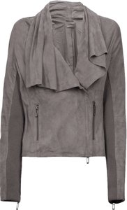 Vince Gray Leather Jacket